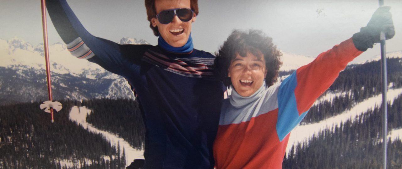 Josef & Jessica in Vail, 1986