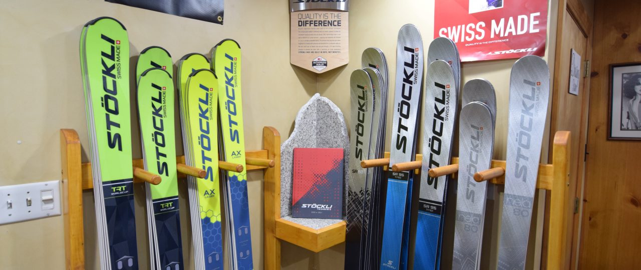 Now Carrying Stöckli Skis!